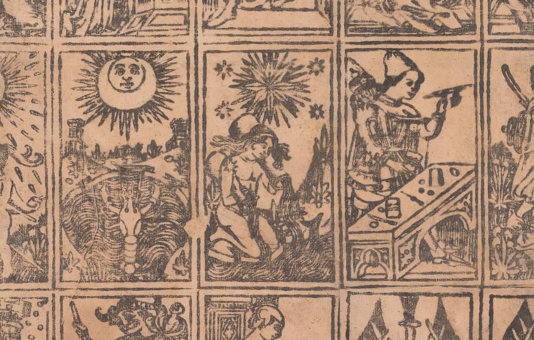 De oorsprong van de Tarot is een groot raadsel.